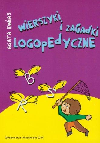 Wierszyki i zagadki logopedyczne - okładka książki