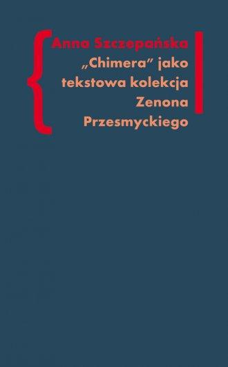 Chimera. Tekstowa kolekcja Zenona - okładka książki