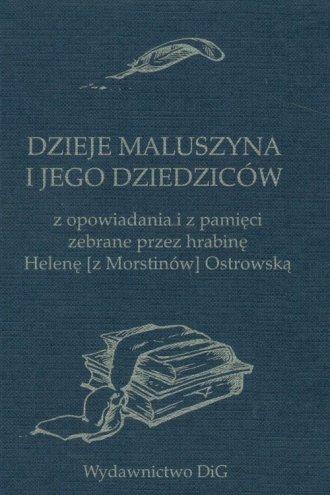 Dzieje Maluszyna i jego dziedziców - okładka książki