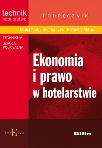 Ekonomia i prawo w hotelarstwie - okładka podręcznika