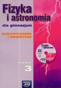 Fizyka i astronomia. Moduł 3. Podręcznik. - okładka podręcznika