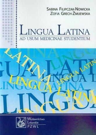 Lingua Latina ad usum medicinae - okładka książki