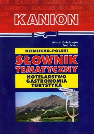 Niemiecko-polski słownik tematyczny. - okładka książki