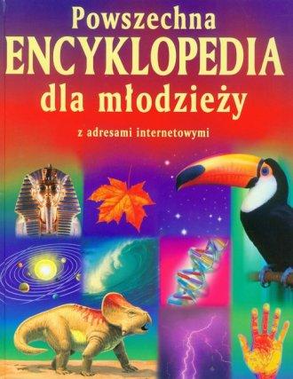 Powszechna encyklopedia dla młodzieży. - okładka książki