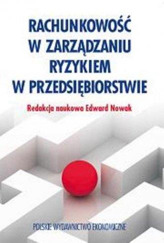 Rachunkowość w zarządzaniu ryzykiem - okładka książki