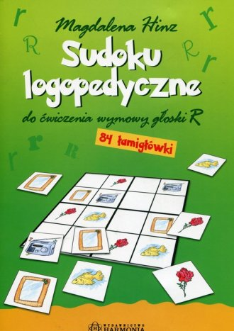 Sudoku logopedyczne - okładka książki