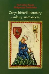 Zarys historii literatury i kultury - okładka książki