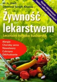 Żywność lekarstwem - okładka książki