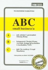 ABC small biznessu 2010 - okładka książki