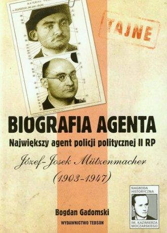 Biografia agenta. Największy agent - okładka książki