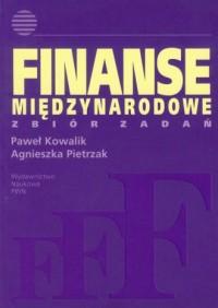 Finanse międzynarodowe. Zbiór zadań - okładka książki