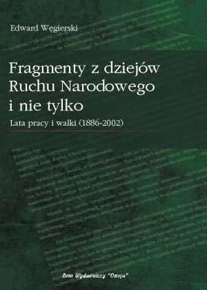Fragmenty z dziejów Ruchu Narodowego - okładka książki
