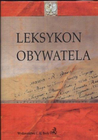 Leksykon obywatela - okładka książki