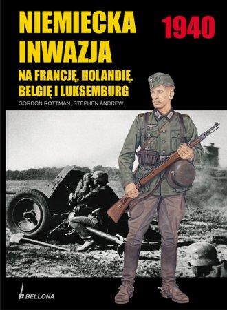 Niemiecka inwazja 1940 na Francję, - okładka książki