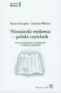 Niemiecki wydawca polski czytelnik - okładka książki