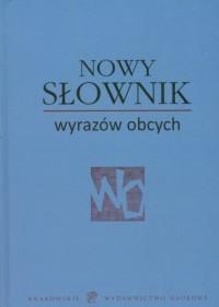 Nowy Słownik wyrazów obcych - okładka książki