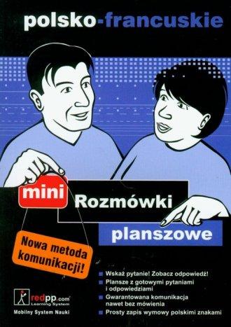 Rozmówki planszowe mini polsko-francuskie - okładka podręcznika