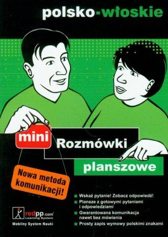 Rozmówki planszowe mini polsko-włoskie - okładka podręcznika