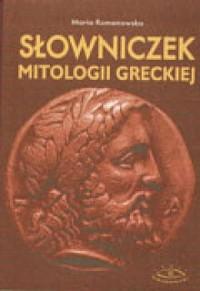 Słowniczek mitologii greckiej - okładka książki