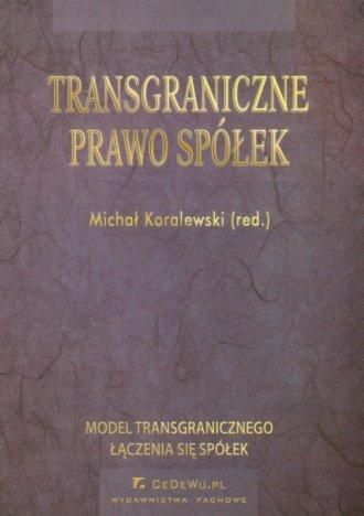 Transgraniczne prawo spółek - okładka książki