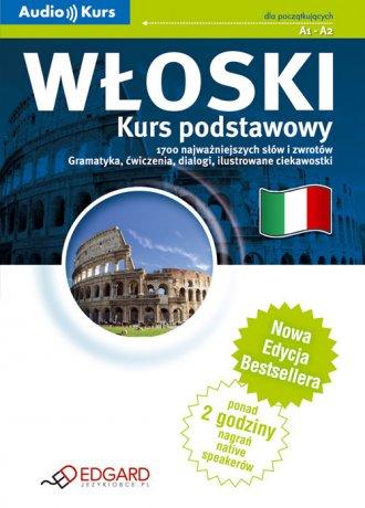 Włoski. Kurs podstawowy (CD) - okładka podręcznika