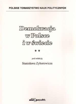 ksi��ka -  Demokracja w Polsce i w �wiecie - Stanis�aw Zyborowicz