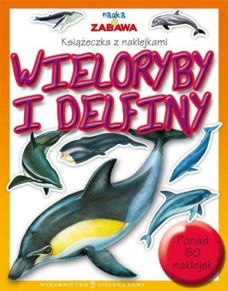 ok�adka ksi��ki - Nauka i zabawa. Wieloryby i delfiny - Wydawnictwo Zielona Sowa