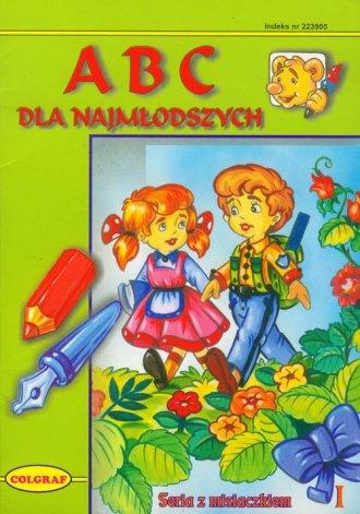 Abc dla najmłodszych - okładka książki