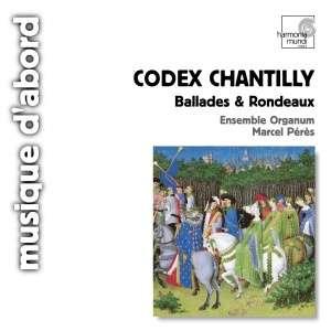 Codex chantilly. Ballades & rondeaux - okładka płyty