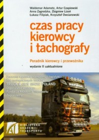 Czas pracy kierowcy i tachografy - okładka książki