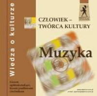 Człowiek - twórca kultury. Wiedza o kulturze (CD) - okładka podręcznika