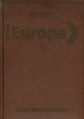 Europa. Atlas samochodowy 1:1 000 - okładka książki