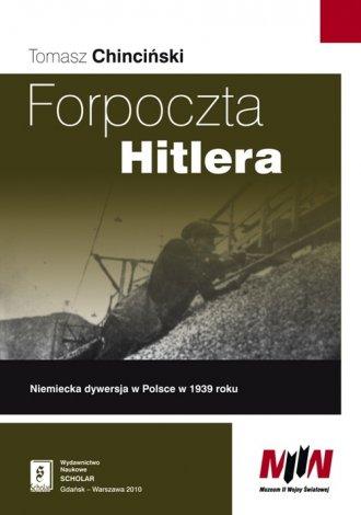 Forpoczta Hitlera. Niemiecka dywersja - okładka książki
