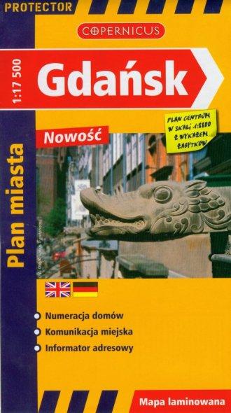 Gdańsk (mapa 1:17 500) - okładka książki