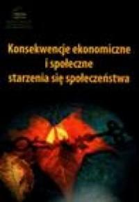 okładka książki - Konsekwencje ekonomiczne i społeczne