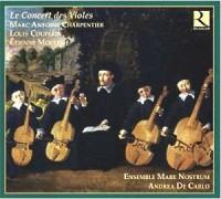 Le Concert des Violes - okładka płyty