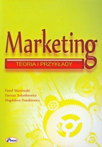 Marketing teoria przykłady - okładka książki