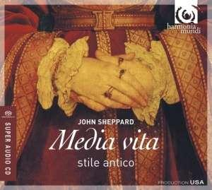 Media vita & other liturgical works - okładka płyty