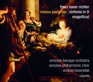 Messa pastorale, Sinfonia in D, - okładka płyty