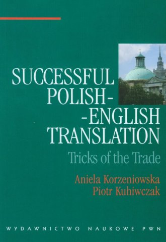 Successful Polish-English Translation - okładka książki