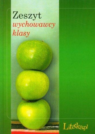 Zeszyt wychowawcy klasy - okładka książki