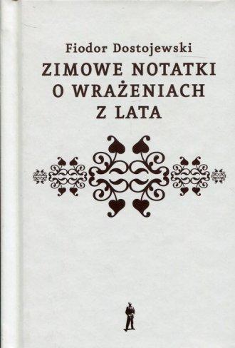 Zimowe notatki o wrażeniach z lata - okładka książki