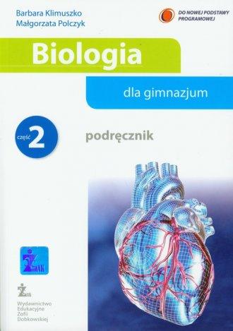 Biologia dla gimnazjum. Podręcznik - okładka podręcznika