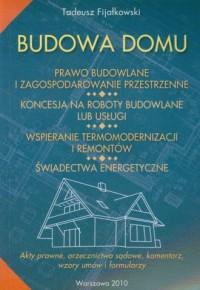 Budowa domu - okładka książki