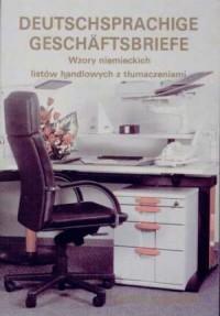 Deutschsprachige Geschaftbriefe - okładka podręcznika