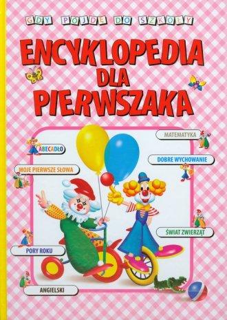 Encyklopedia dla pierwszaka - okładka książki