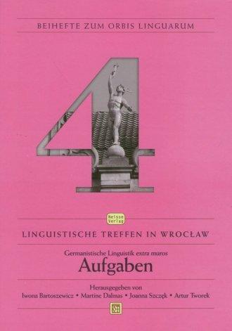 Linguistische Treefen in Wrocław. - okładka książki