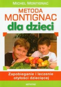 Metoda Montignac dla dzieci - okładka książki