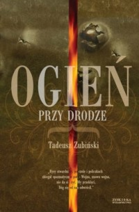 Ogień przy drodze - Tadeusz Ziubiński - okładka książki