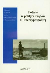 Polesie w polityce rządów II Rzeczypospolitej - okładka książki